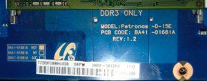 Платформа Petronas-D-15E